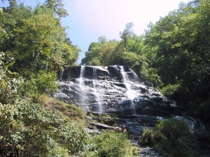 chutes, top, nature