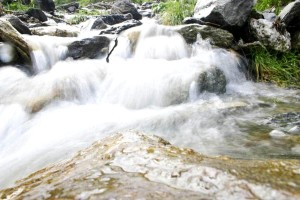 nature, peu, cascade