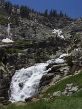 tokopah, waterfalls, cliffs
