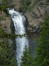 waterfalls, tower