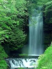 Wasserfälle, Tapete