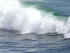 groß, Welle, Meer