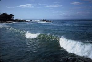 Küsten-, Umwelt, Wellen, Szenen