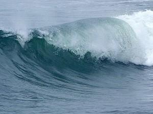 волны, океан, вода