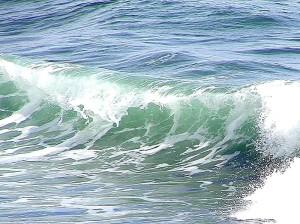 waves, ocean, foam, water
