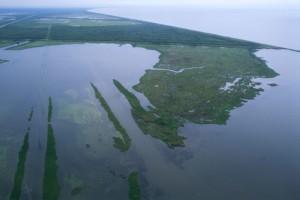 aériennes, des marais, des lacs
