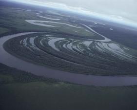aerial, Innoko, wilderness, refuge, Alaska
