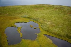 aérien, landmass, environnante, l'eau, les sources
