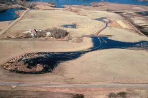 wetland, restored, landscape