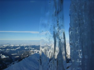 glace, paysage