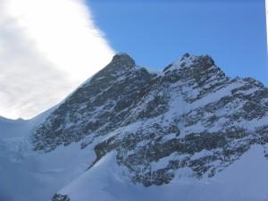 valley, winter, frost, iceberg, snow, peaks