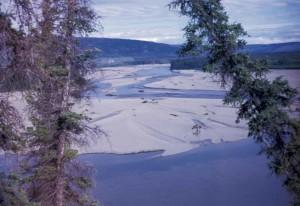 heure d'hiver, rivière, montagnes