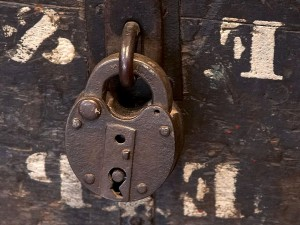 old, west, style, padlock, old, town, San Diego