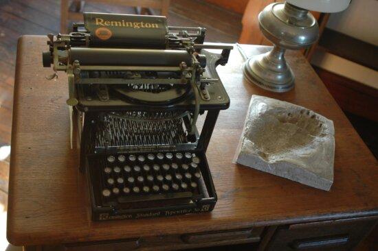 antique, Remington, typewriter