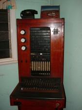 antique, telephone, exchange
