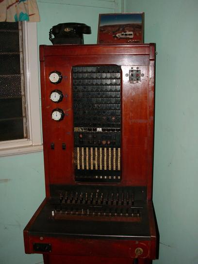 antique, telephone, exchange