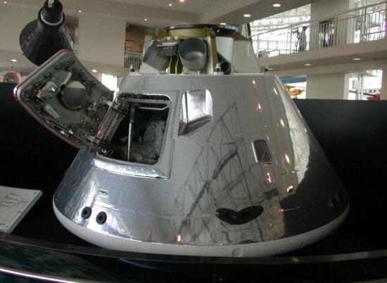 apollo, command, module, Seattle, museum, flight
