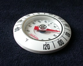 bimetallic, zavojnica, termometar