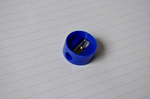 blue, pencil, sharpeners, school