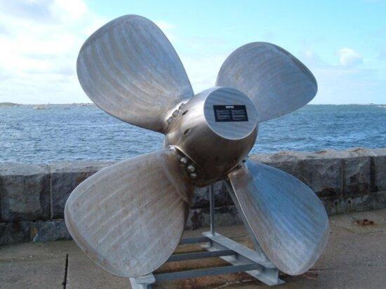 boat, propeller