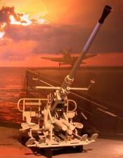 bofors, millimeter, anti, aircraft, gun