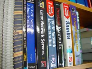 libri, rete, amministrazione, Linux, rete, server