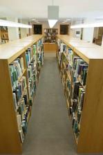 bookshelves, books, library