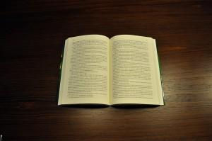open, book, jaundiced