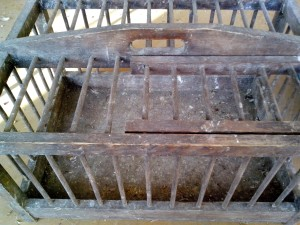 transport, cage, small, animals, wooden, cage