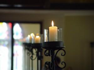 candles, windows, Johns, Lutheran