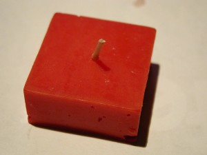 red, candle, object