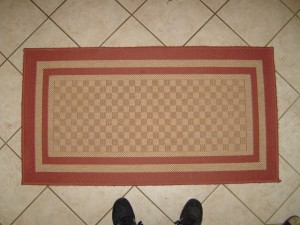 alfombra, pequeña