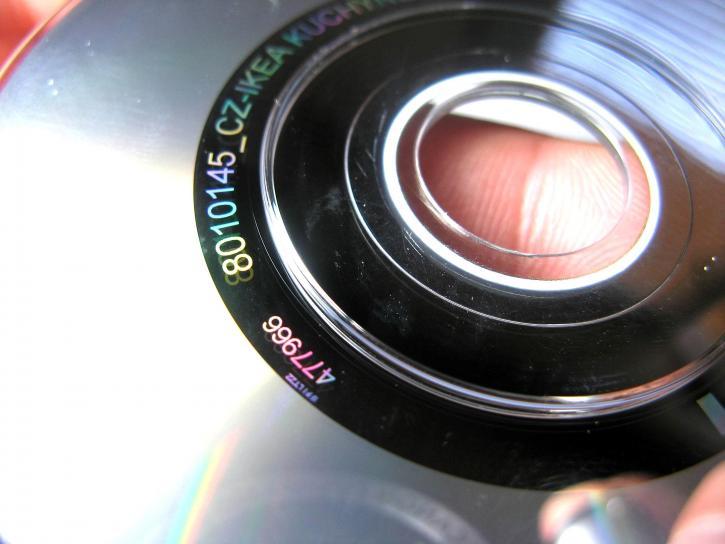 компакт диск, dvd, цифрова, гъвкави, диск, диск, затвори