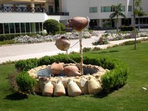 cerámica, parque