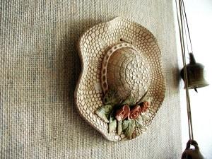 la cerámica, para mujer, sombrero