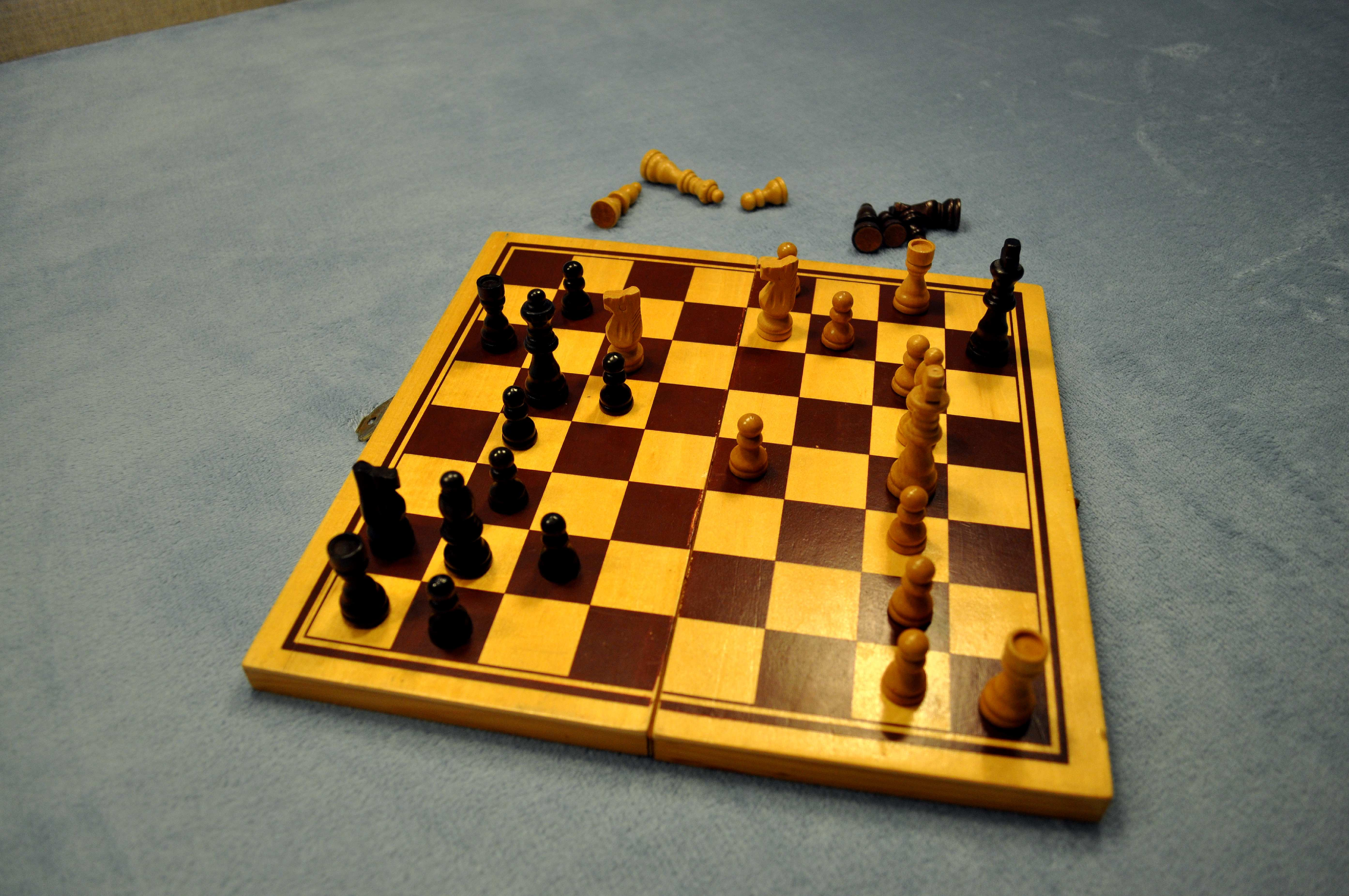 Free photograph; chess, game