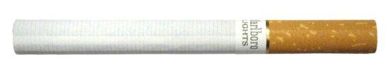 cigarette, white background
