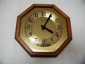 horloge analogique, horloge