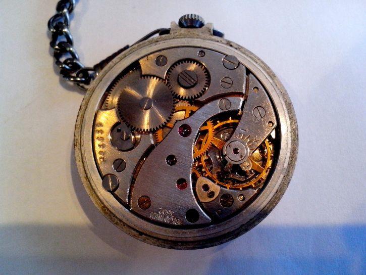 clock, mechanism