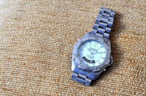 손, 세련 된, 시계