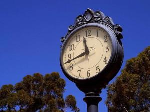 street, iron, work, clock