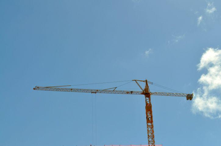 stavebníctvo, žeriav