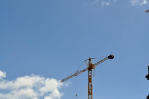 construction, machines, grue