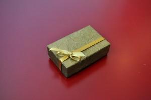장식, 골 판지, 상자, 선물, 테이블