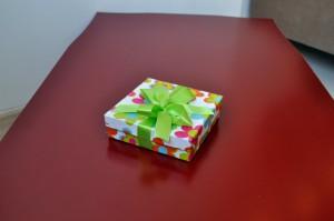décoratif, cadeau, boîte, ecchymose