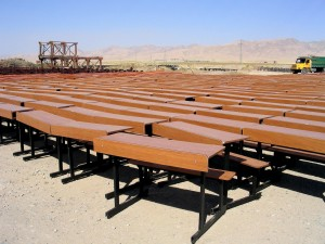 stoly, otvorené