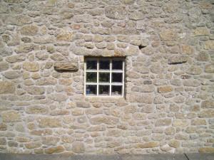 antique, rock, window