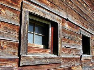 granges, bois, fenêtres
