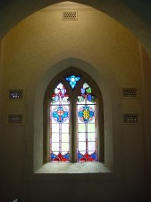 church, window