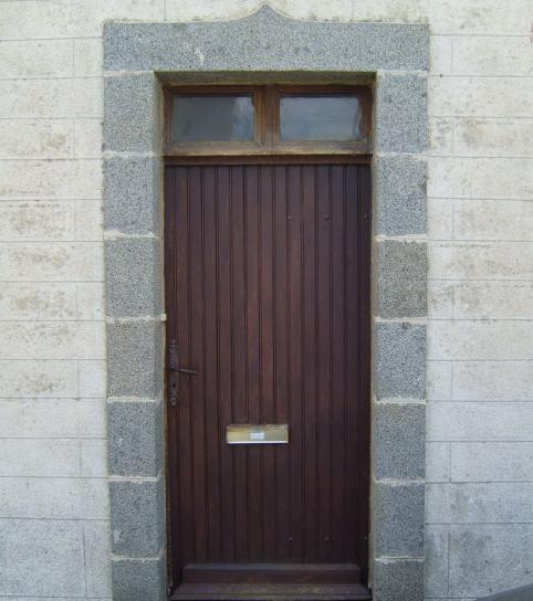 vieux, porte, pierre
